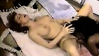 British Lesbian Couple With A Strap-On