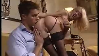 Italian Anal With Stockings