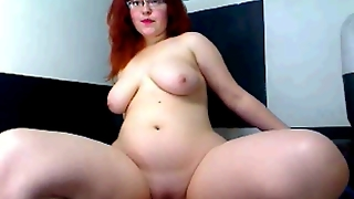 Chubby Fingers On Web Cam