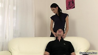 Gay First Time Blowjob And Cock Riding