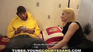 Young Courtesans - Interracial Courtesan Fucking