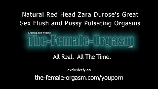 Natural Redhead Masturbation Sex Flush And Pulsating Orgasms