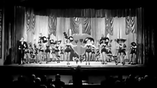 Burlesque Girls Dance On Stage (1940S Vintage)