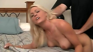 Big Tits Wife Gets Fucked Doggy Style