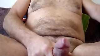 Big Cumshot In My Bed