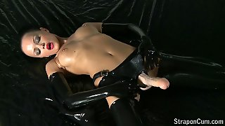Solo Masturbation, Latex Cumshot, Latex Masturbation Solo, Brunette Solo Masturbation, Masturbation Milfs, Solo And Cumshot, Latexmasturbation, Masturbation Brunette, Masturbation And Cumshot, Strap On Cum Shot