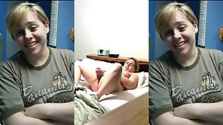 Short Haired Mom With Dildo