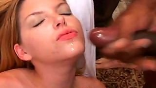 Cutie Candi Apple Big Boob Bukkake Blowbang