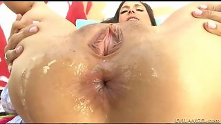 Fat Dick In The Asshole Of Horny Girl