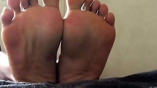 Sweaty Black Feet