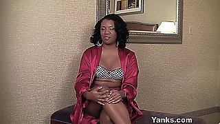 Ebony Girl Interviewed For Yanks