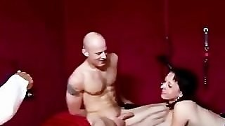 Stockings European Slut Gets A Facial