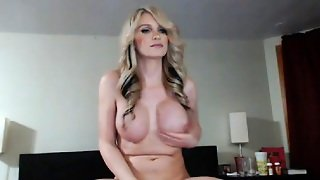 Extremely Hot Blonde Shemale