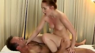 Massage Rooms Horny Young Girls Get Fucked Hard And Covered In Cum