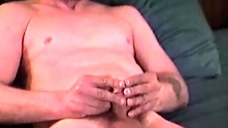 Amateur Mature Man Jimmy Jacks Off And Cums