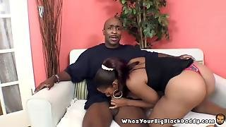 Bigass Ebony Sucking On Bbc Monstercock