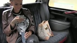 Faketaxi Tattooed Hottie Fucked On Taxi Backseat