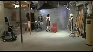 Butt And Pussy Spanking In Lesbian Bdsm