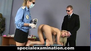 Gyno Exam For Sweet Blondie
