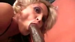 Petite Blonde Interracial Amateur