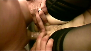 Group Fuck With German Milf