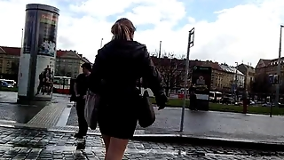 Cool Legs And Ass On The Street