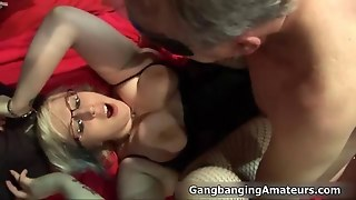 Dirty Fat Whore Sucking A Cock