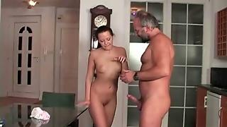 Lucky Old Guys Vs Hot Young Girls