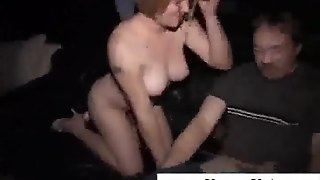 Amateur Gangbang In Adult Cinema
