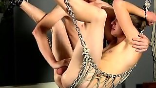 Hot Twink Stroked Free Of A Cum Shot