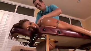 Oily Eva Notty Receives Drilled