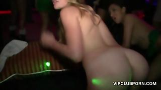 Sexy Girls Pounded Hard At Xmas Vip Party