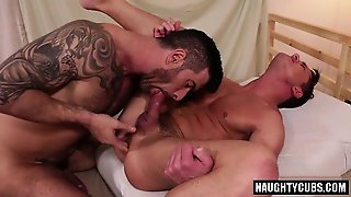 Tattoo Gay Ass To Mouth And Cumshot