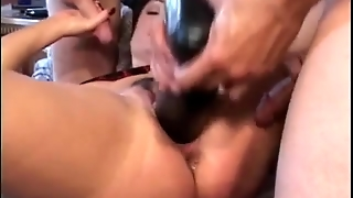 Bizzare, Anal Insertion, Dildo, Huge Vegetables, Toys, Huge Toys, Big, Massive Objects, Deep Balls