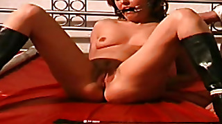 Clamped Nipples, Penetrated Pussy