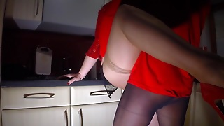 Stockings In The Kitchen
