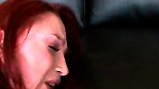 Redhead Milf Gets Both Ass And Cunt Drilled