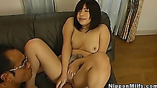 Japanese Milf Mom Sucks And Fucks