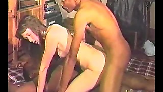 Skinny Brunette Has Interracial Sex In An Amateur Reality Video