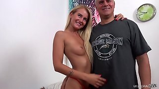 Hd, Blondes, Thong, Cowgirl, Pussy Licking, Missionary, Hardcore, Long Hair, Doggystyle, Medium Ass, Natural Tits