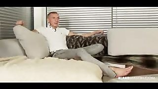 Hot Solo Session With A Really Hot British Stud