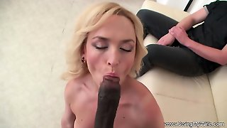 Interracial For Blonde Swinger Wife