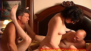 Bi Orgy With Grandpa And Teen Girls
