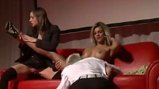 Extreme Groupsex On Public Show Stage