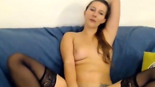 Cyberslut Teen\\'s Pink Pussy Cam Clips