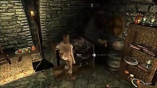 Perils Of Escaped Skyrim Slavegirl 12