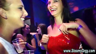 Party Teens And Stripper Blowjobs