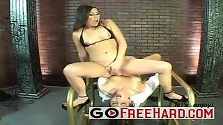Lesbian Squirting Over The Blonde