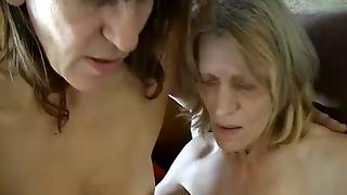 Omapass Old Granny And Chubby Granny Masturbating