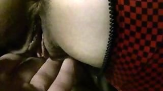 Wife's Stretched Ass Getting Toyed Before Squirting All Over Her Sex Suit.